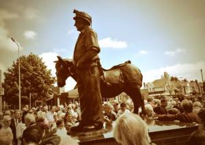 BURNTWOOD MINING STATUE