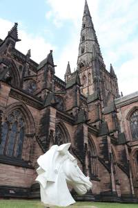 Horse Peter Walker Sculptor Lichfield Cathedral
