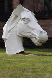 Peter Walker Sculptor Horse Sculpture Lichfield