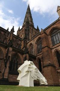 Peter Walker Sculptor Horse Sculpture Lichfield Cathedral